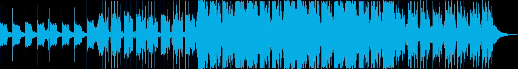重々しく絶望感のあるダークなオーケストラの再生済みの波形