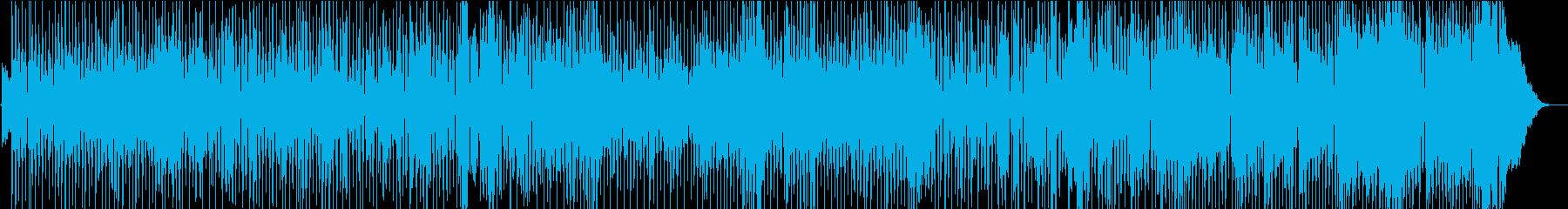 ロッキングブルースは、ギターソロと...の再生済みの波形
