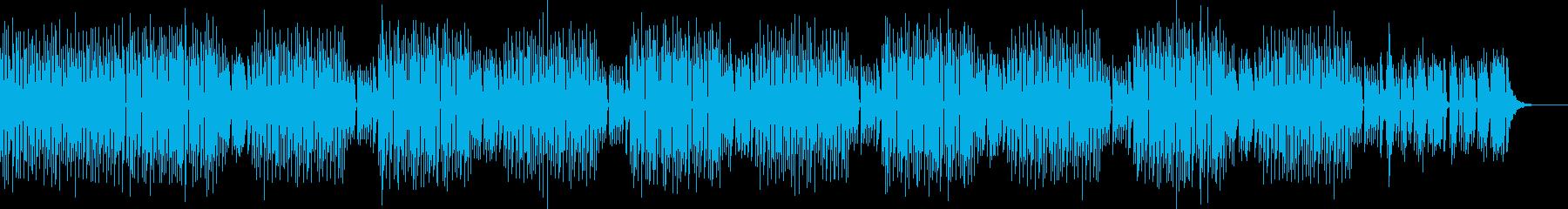 ノリの良いミニマルテクノの再生済みの波形
