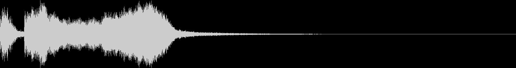 テッテレー7/上がっていく音 超快適の未再生の波形