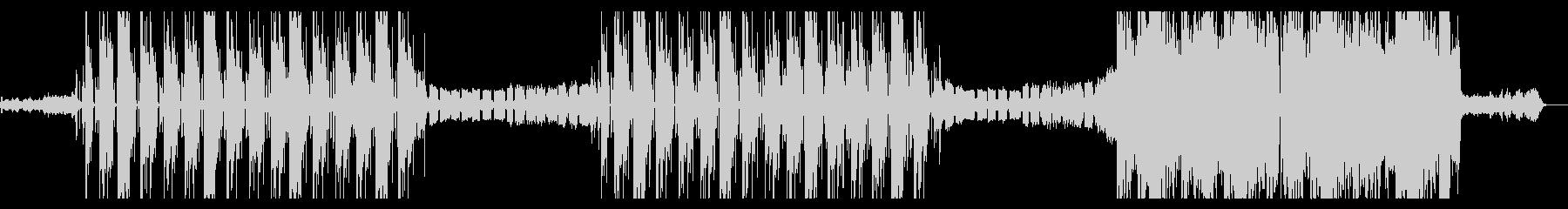 K-POP ハード TRAP EDMの未再生の波形