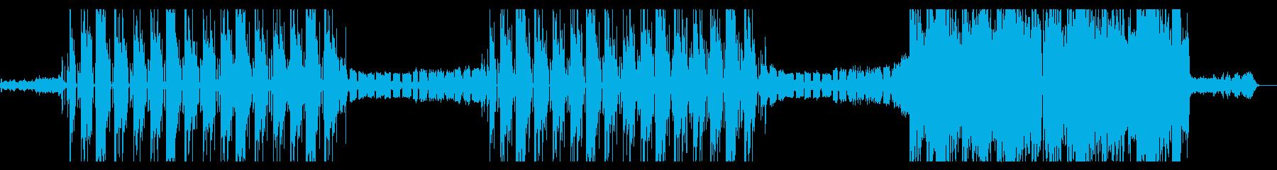 K-POP ハード TRAP EDMの再生済みの波形