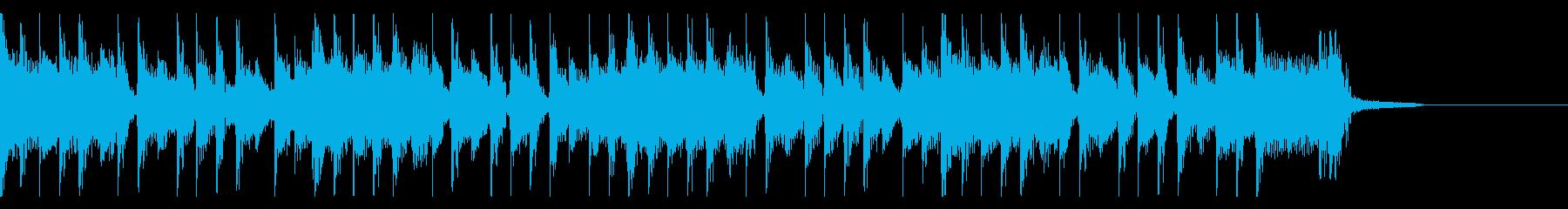 オーセンティックなハードロックジングルの再生済みの波形