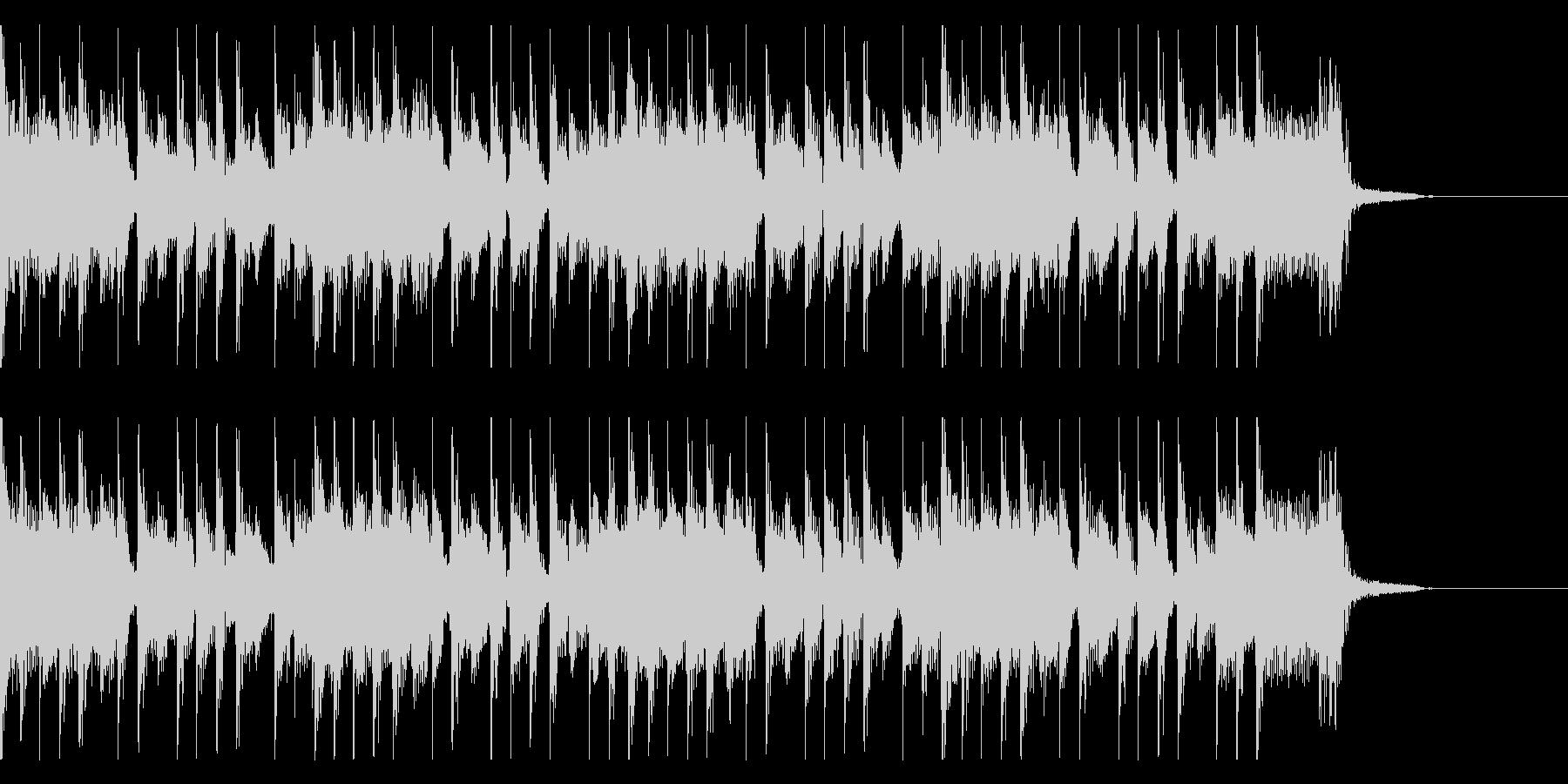 オーセンティックなハードロックジングルの未再生の波形