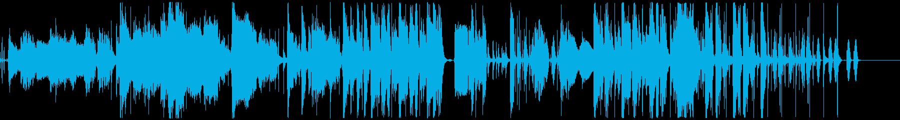 フュージョン ジャズ レトロ さわ...の再生済みの波形