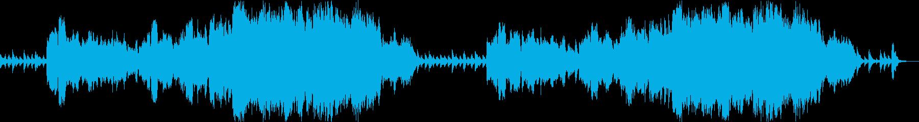 かわいくて優雅なオーケストラ・ワルツの再生済みの波形
