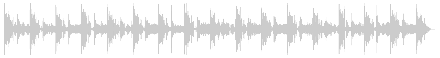 ベース生演奏のクールスラップジングル06の未再生の波形