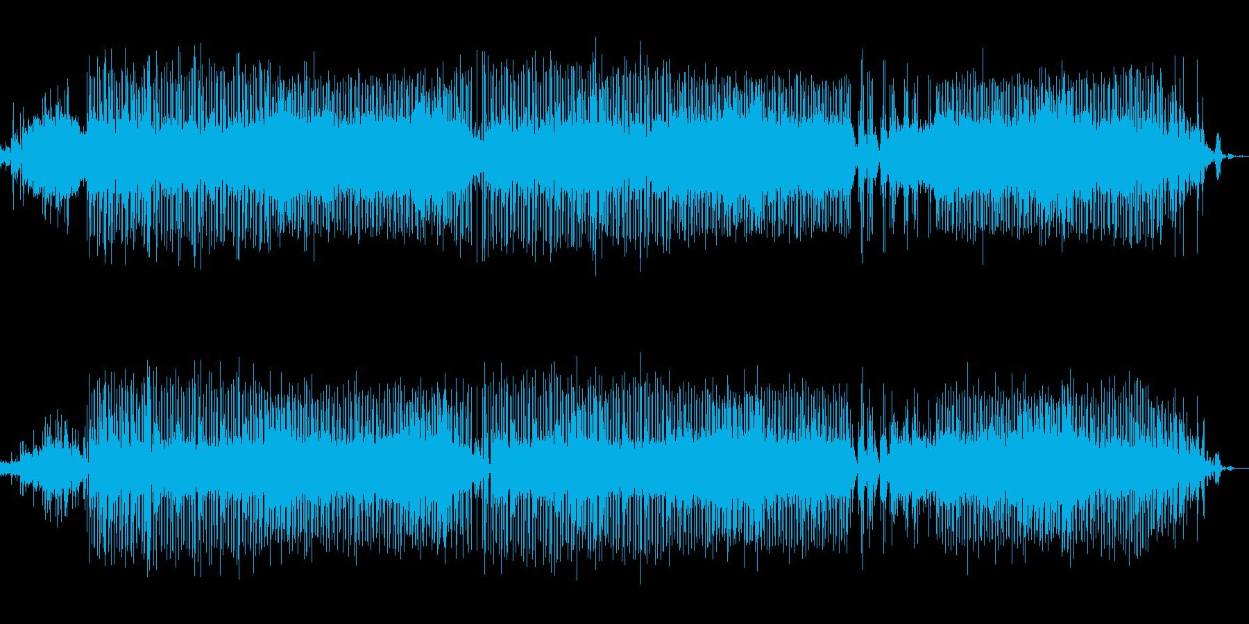 綺麗な雰囲気のピアノR&B調サウンドの再生済みの波形