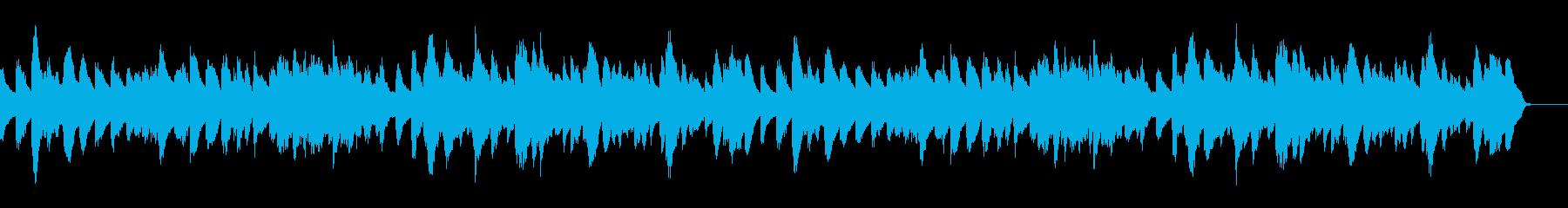 ゴルトベルク変奏曲のピアノソロ/CMの再生済みの波形