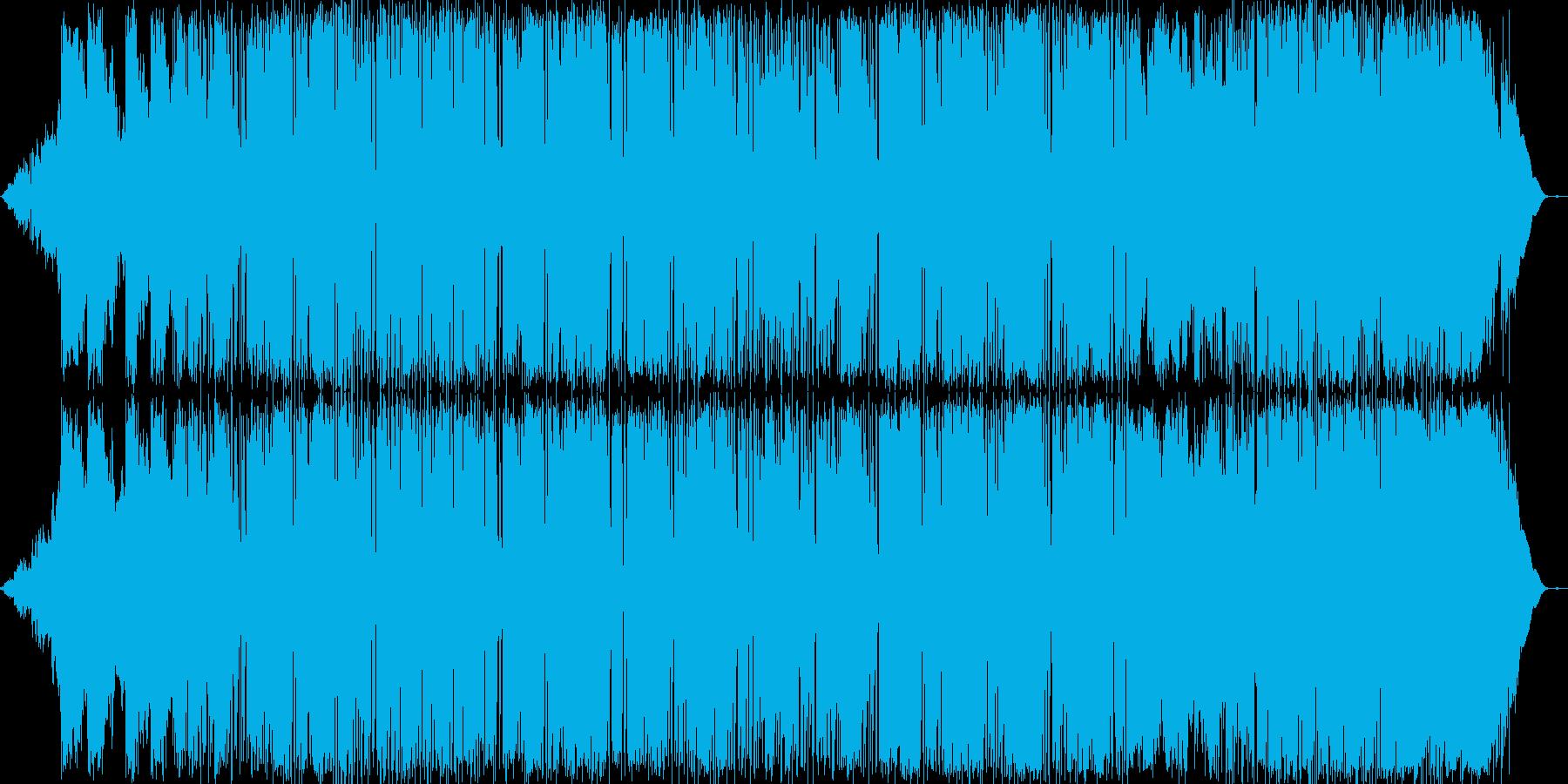 エレクトロニック 感情的 楽しげ ...の再生済みの波形