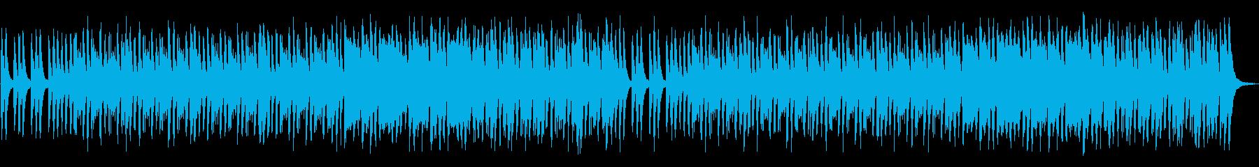 おばけの館のような不思議、奇妙なBGMの再生済みの波形