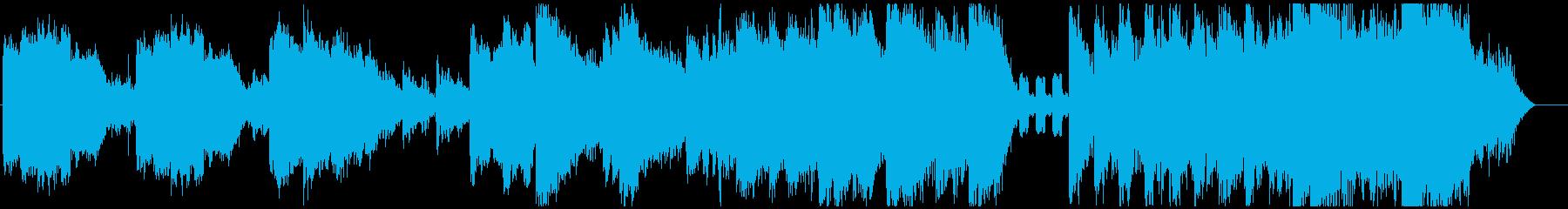 12音技法を用いた狂気のリズムとメロディの再生済みの波形