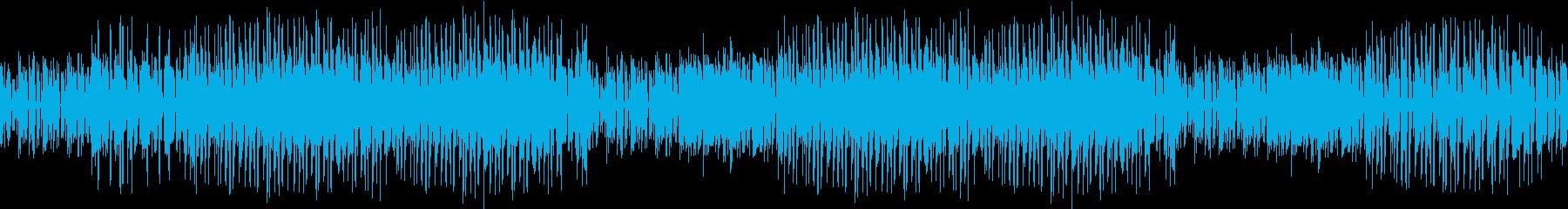 生音ギター・悩み・不安・乾いた音・ループの再生済みの波形