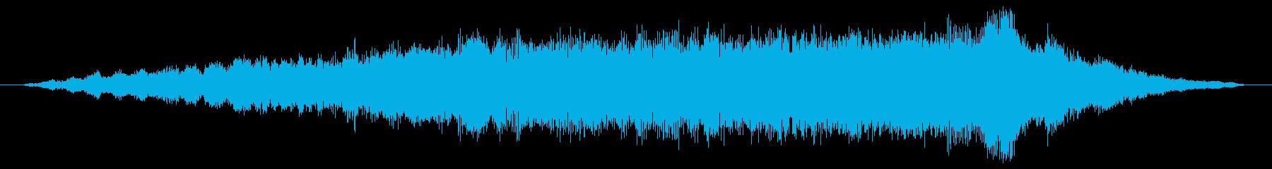 素材 大気の剥離05の再生済みの波形
