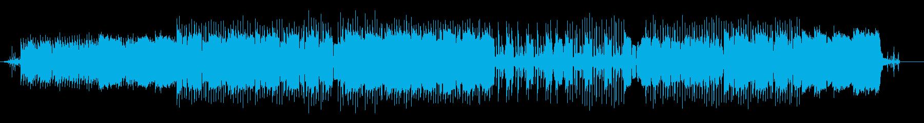 落ち着いた雰囲気のローファイヒップホップの再生済みの波形