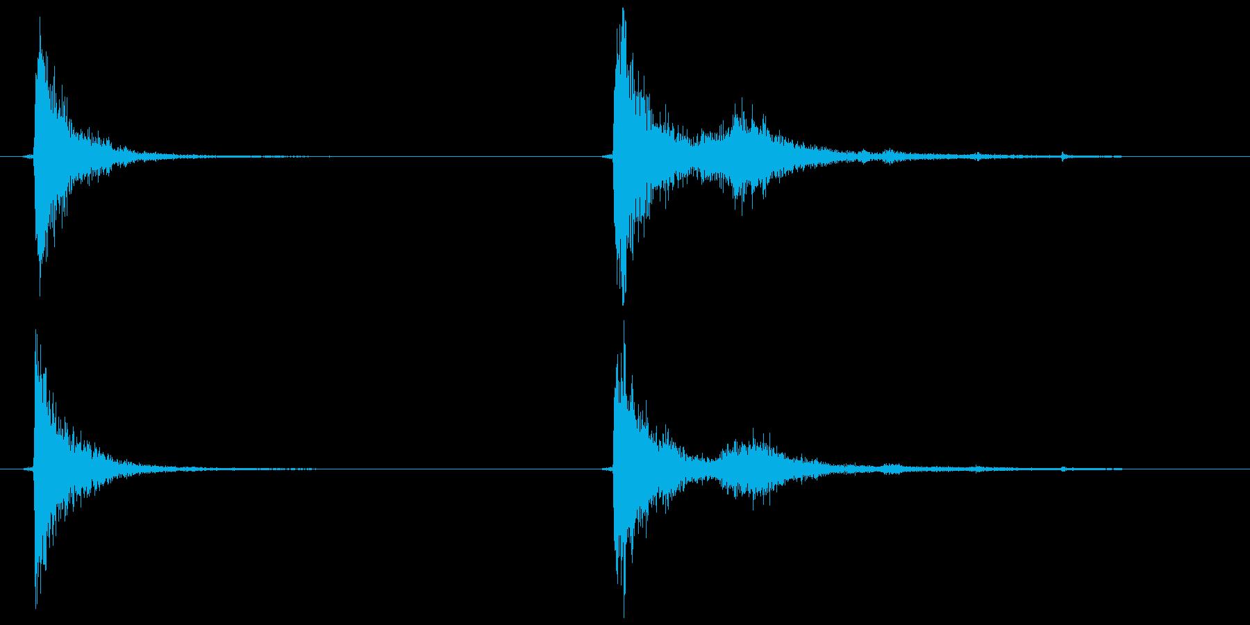 テレビ/ブラウン管 カッ、コッ+チリッの再生済みの波形