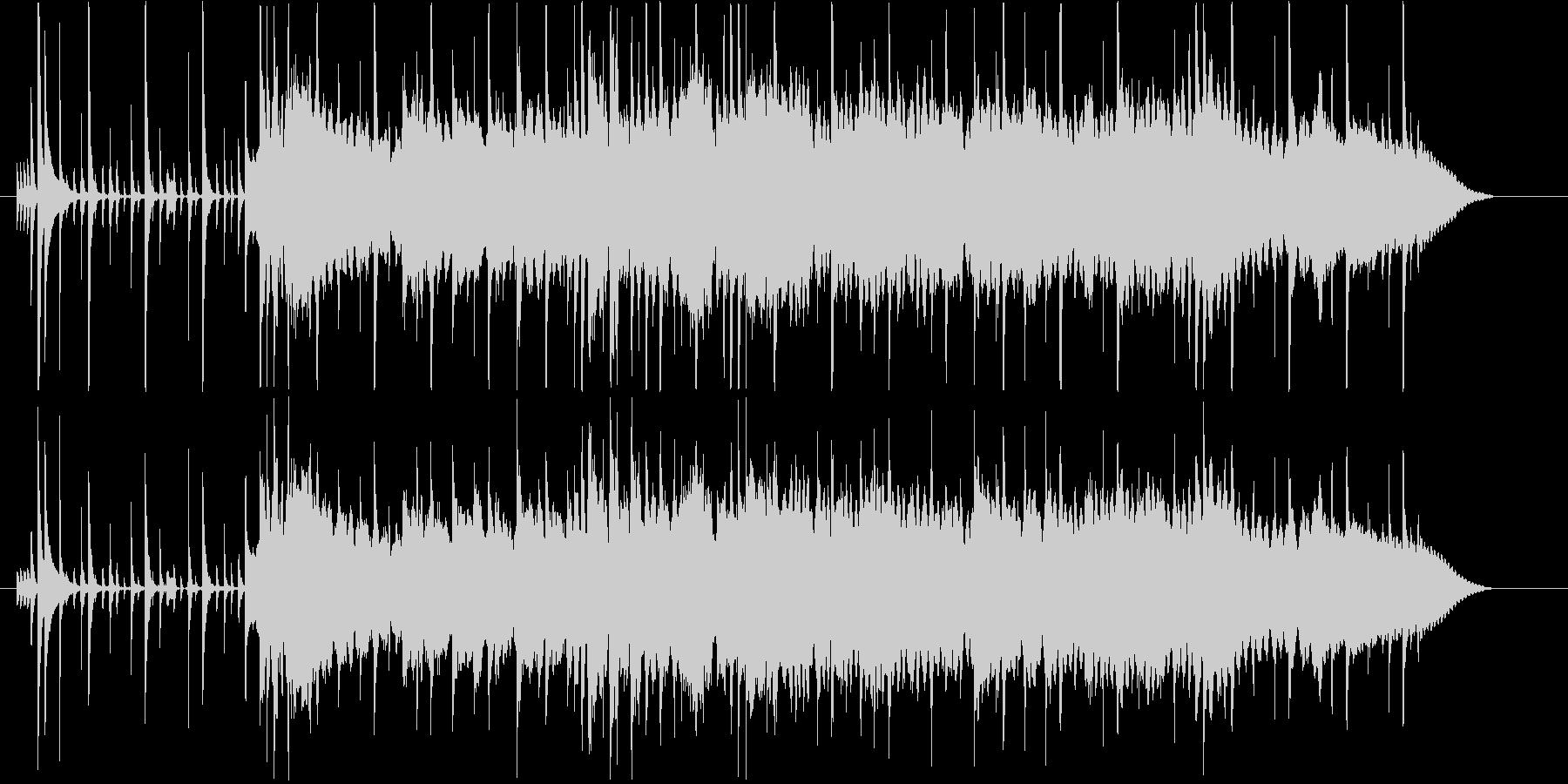 シティポップ風ジングル・サウンドロゴの未再生の波形