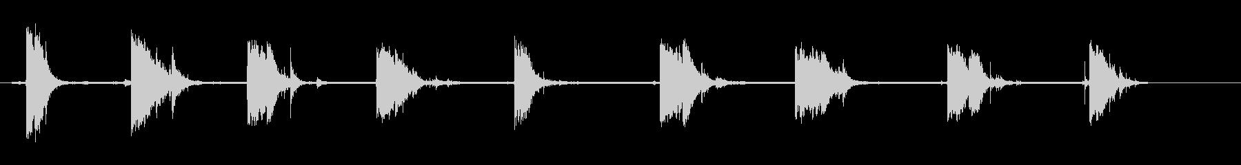 デブリスマッシュ、Various 2の未再生の波形