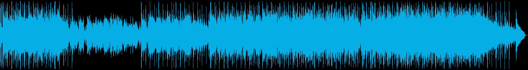 優しい雰囲気のバラード4の再生済みの波形