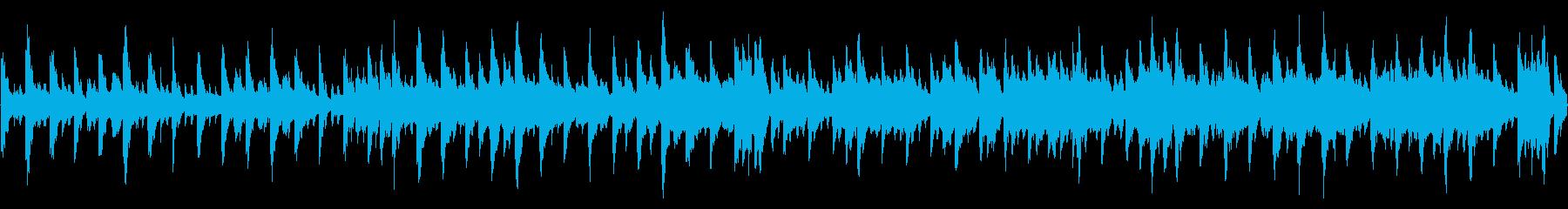 琴・笛・三味線を使った軽快な和風ループ。の再生済みの波形