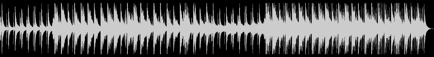 卒業をイメージしたピアノBGMの未再生の波形
