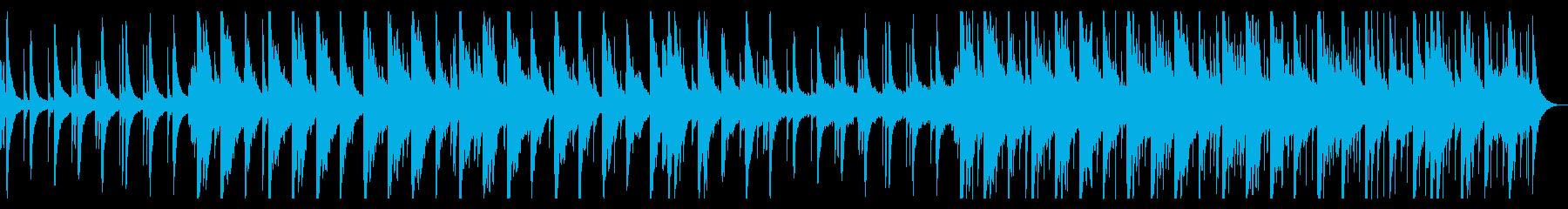 卒業をイメージしたピアノBGMの再生済みの波形