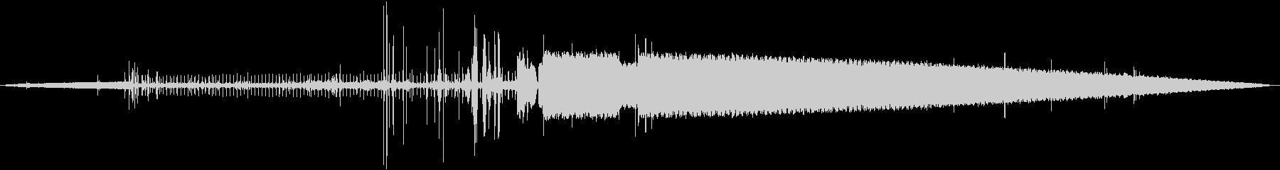 コンピュータのビープ音、インターフェイスの未再生の波形