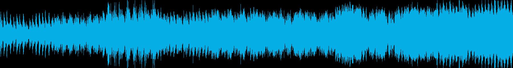 行進曲 勇ましい FF風 ループ2の再生済みの波形