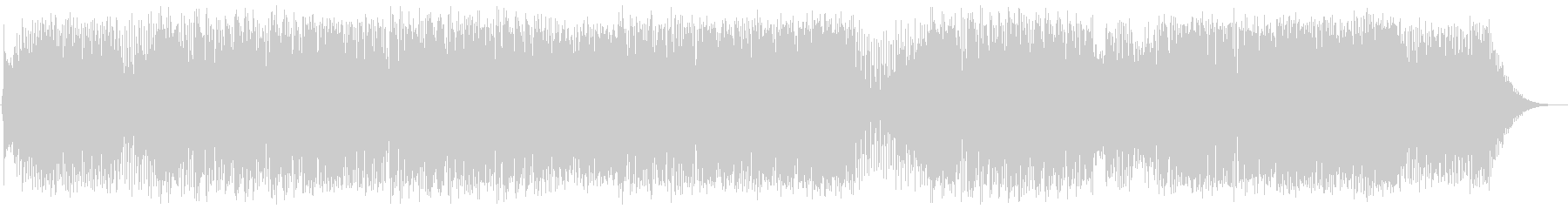 ポップス系フュージョンの未再生の波形