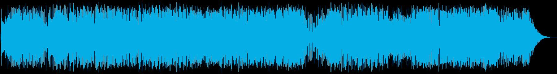 ポップス系フュージョンの再生済みの波形