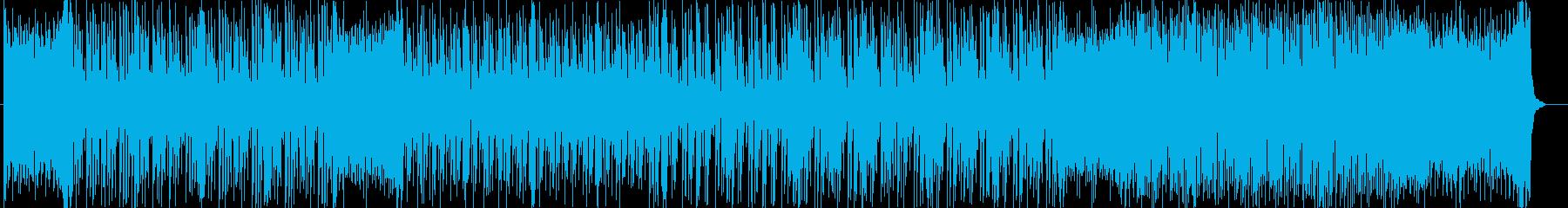 スタイリッシュなシンセポップの再生済みの波形