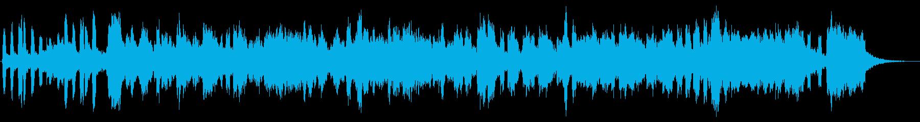 ヴィブラホンのジャジーなジングル2の再生済みの波形