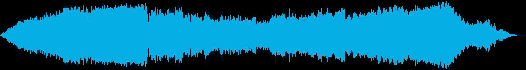 リラックス、クラシック音楽のような楽曲の再生済みの波形
