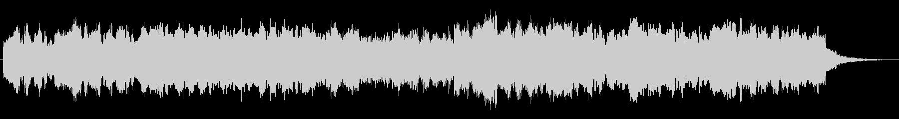 シンセブラスの印象的なジングルの未再生の波形