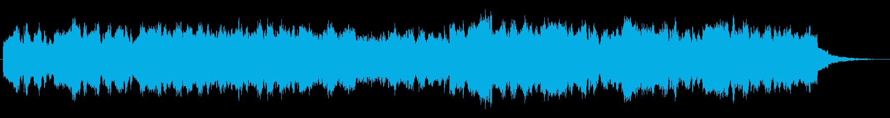 シンセブラスの印象的なジングルの再生済みの波形