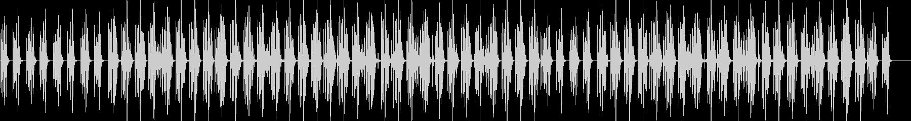 コロコロした音色がかわいい日常系BGMの未再生の波形