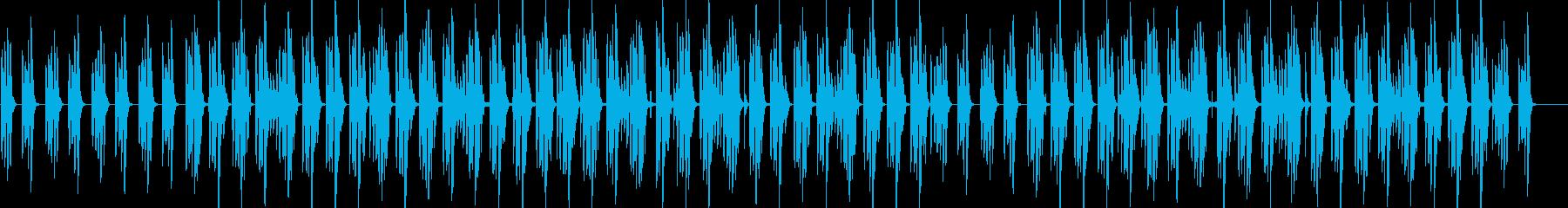 コロコロした音色がかわいい日常系BGMの再生済みの波形