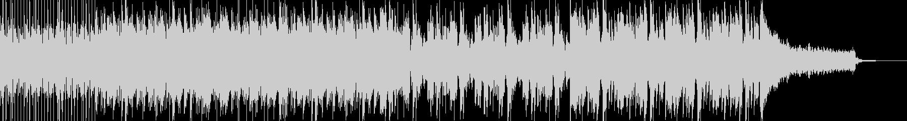 オープニング系エレクトロミュージックの未再生の波形
