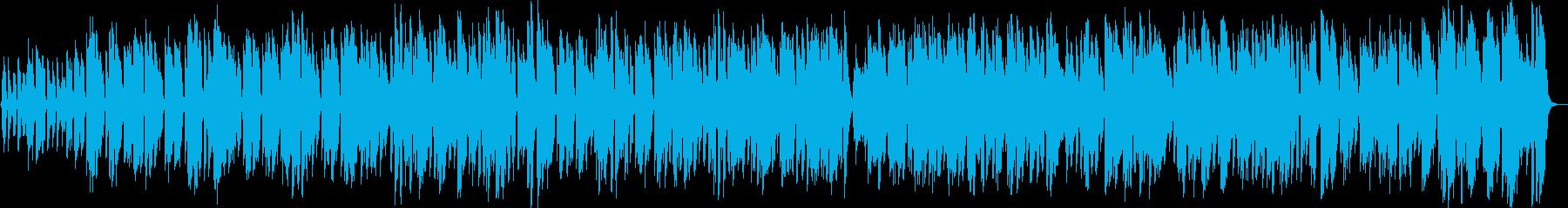 ギターに合わせた軽快な口笛ポップスの再生済みの波形