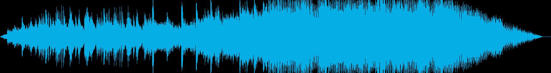 ピアノの切ない旋律が印象的なピアノハウスの再生済みの波形