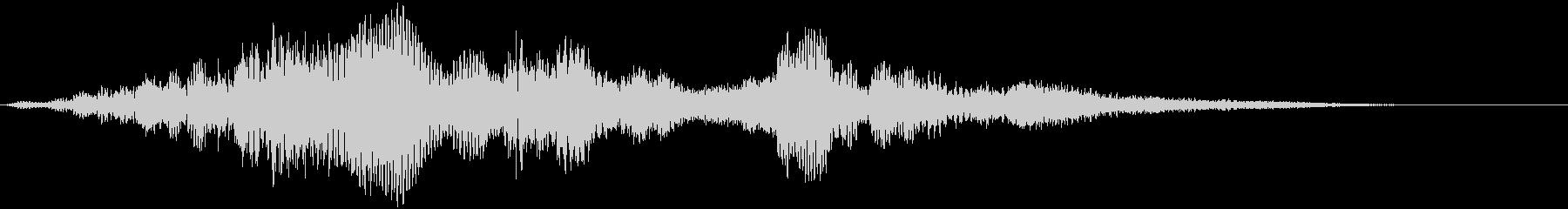 【SF映像演出】デジタルな音_01の未再生の波形