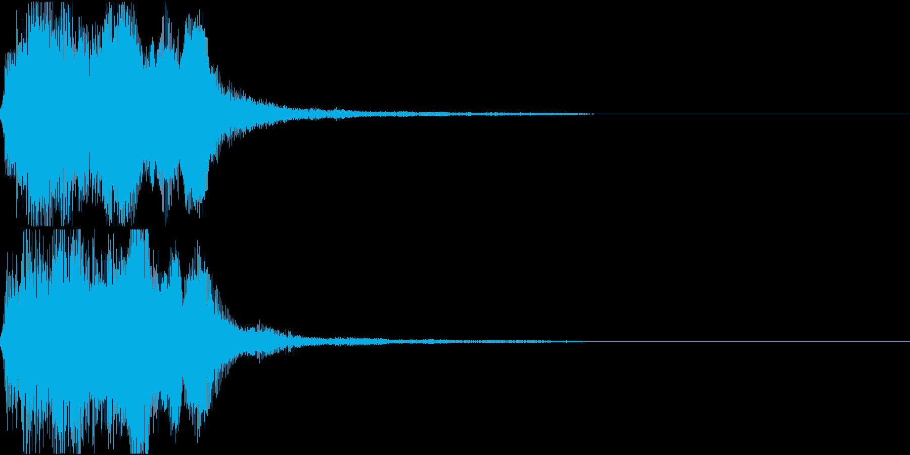 ラッパ ファンファーレ 定番 9 早いの再生済みの波形