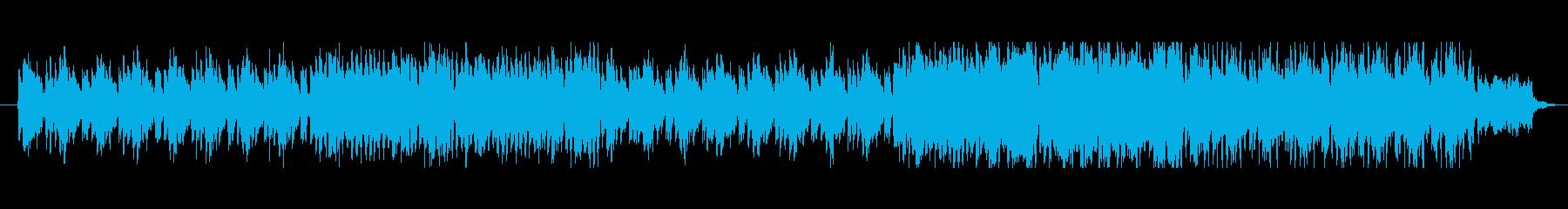 おとぎ話の様なファンタジーなメロディーの再生済みの波形