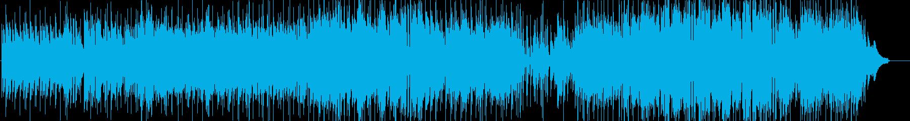 甘くとろけるようなメロディのバラードの再生済みの波形
