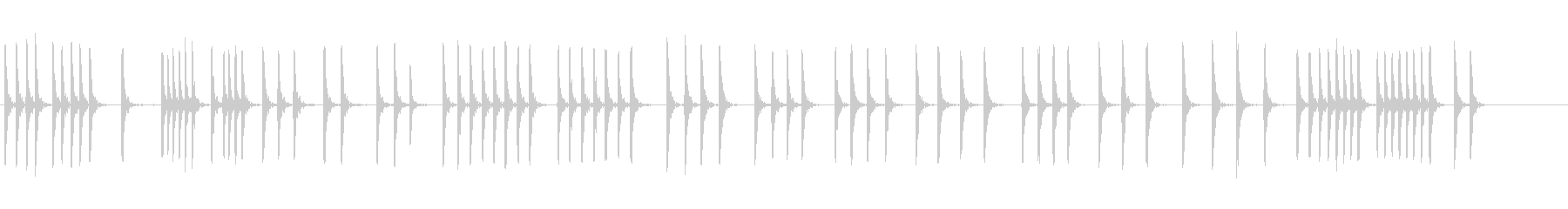金属板に3ハンマーの未再生の波形