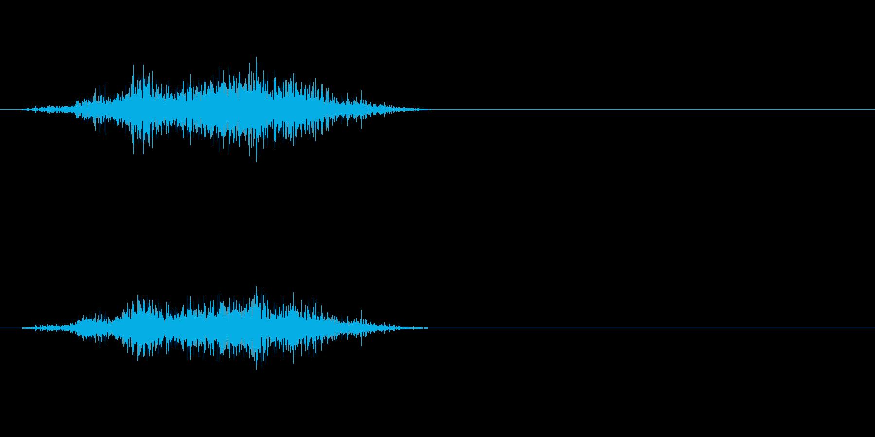 モンスターの息などにの再生済みの波形