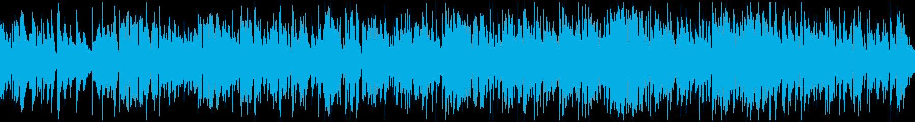 軽快リズム爽やかジャズサックス※ループ版の再生済みの波形