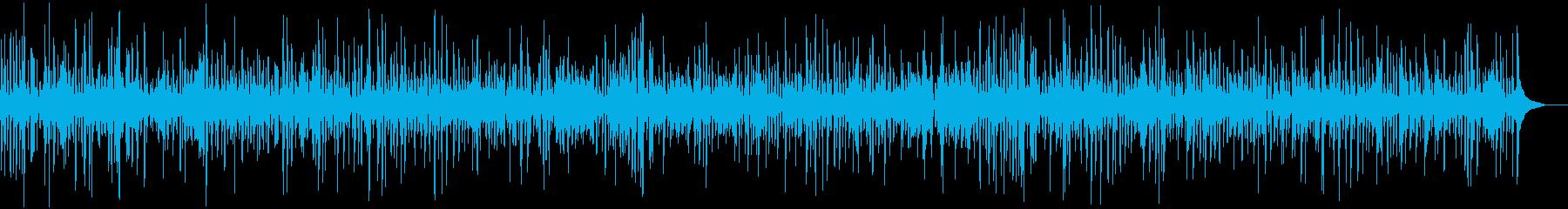 おしゃれカフェのアコーディオンジャズの再生済みの波形