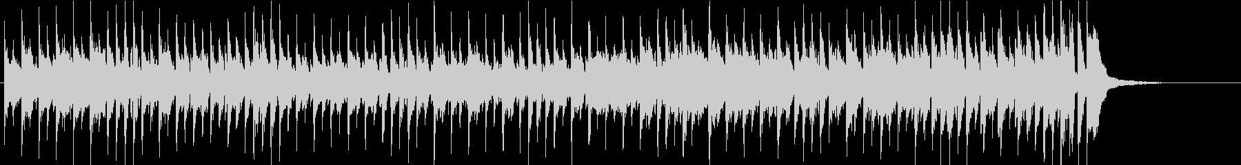 カウボーイドリームの未再生の波形