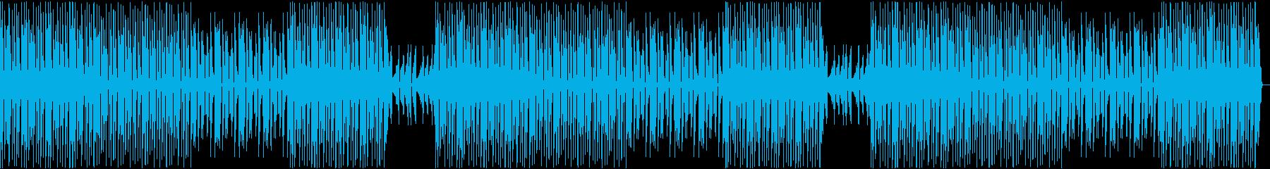 ヨガ等軽めのトレーニング用BGMの再生済みの波形